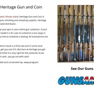 Heritage Gun And Coin