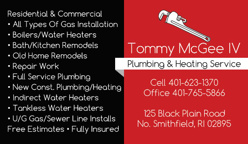 Tommy McGee IV Plumbing