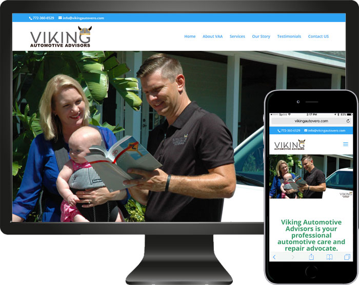 New website launched Viking Automotive Advisors